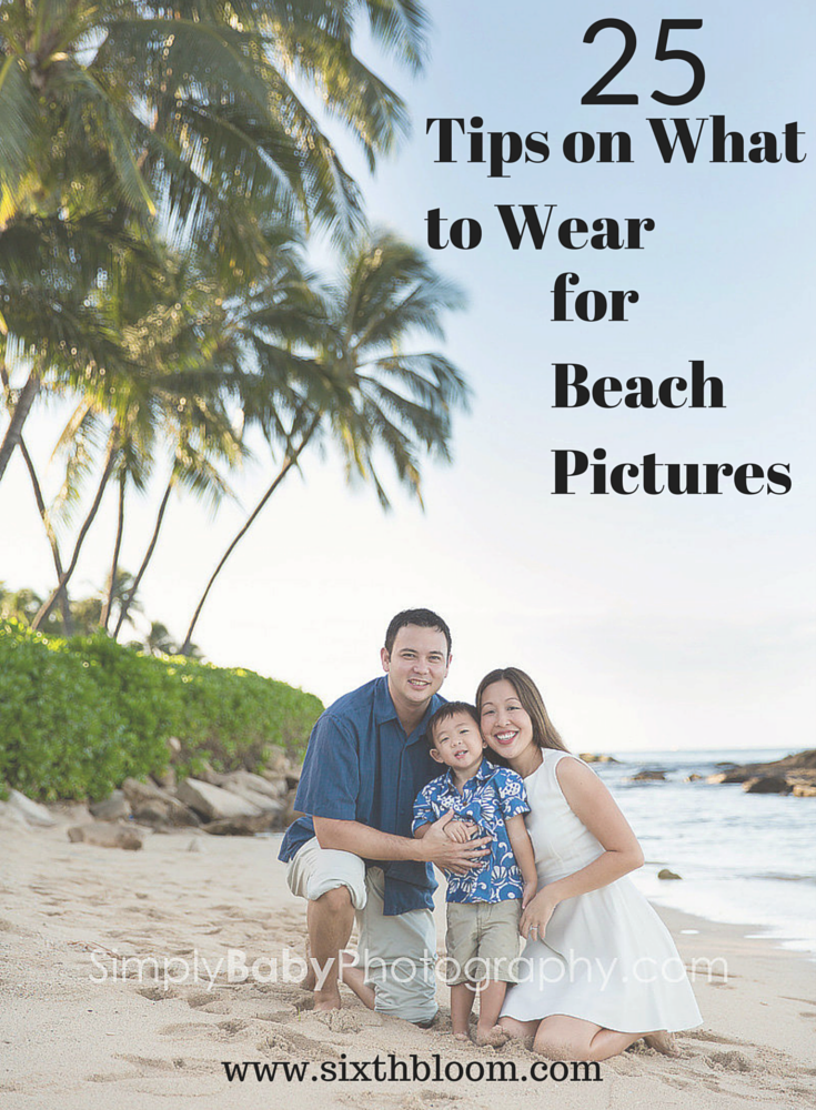 25 Tips on What to Wear for Beach Pictures - Soft Surroundings Home Decor