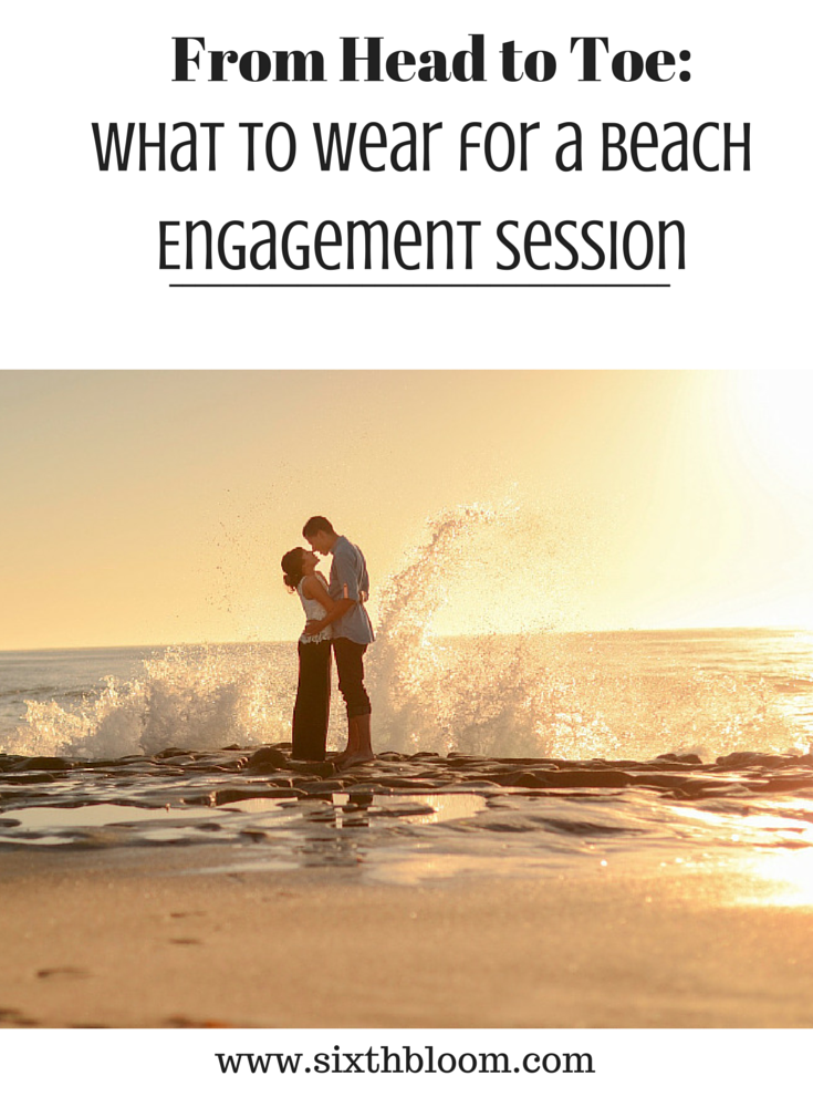 what to wear for beach engagement