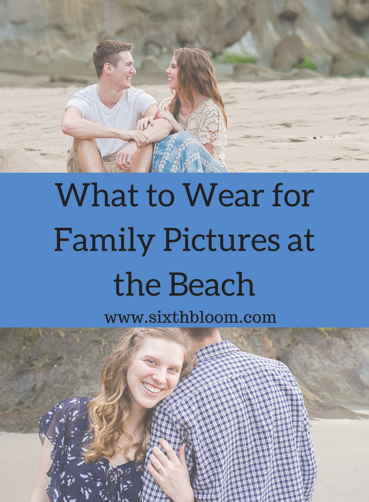 What to Wear for Family Pictures at the Beach