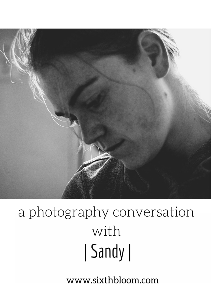 otography Conversation with Thrifty Tog | Sandy