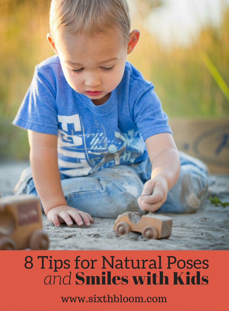 8 Tips for Natural Poses and Smiles with Kids