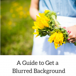 A Guide to Get a Blurred Background in a Picture