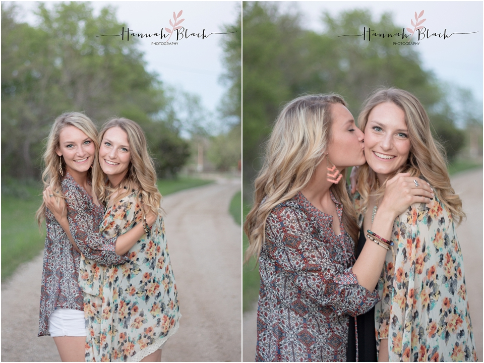 twin senior photo session