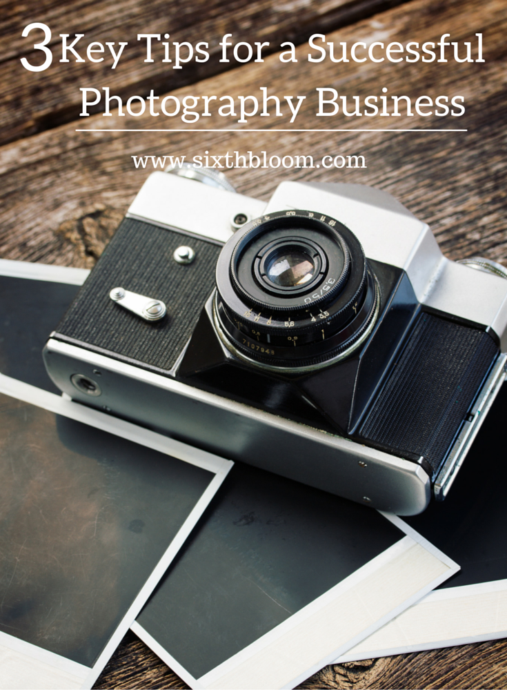 tips for a photography business