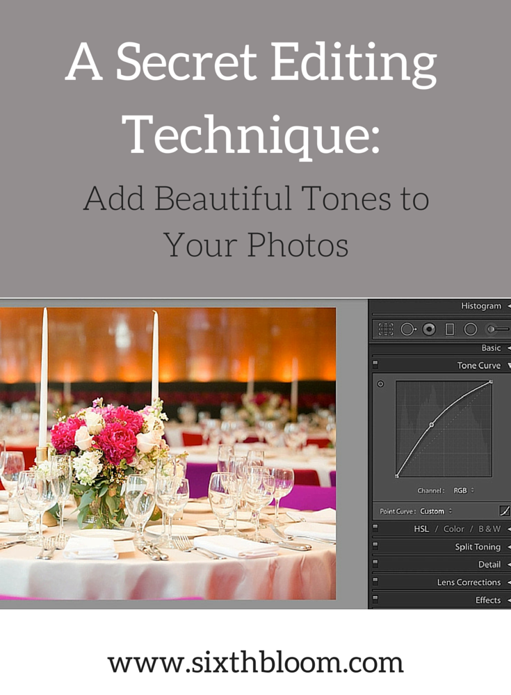 editing technique for photographers