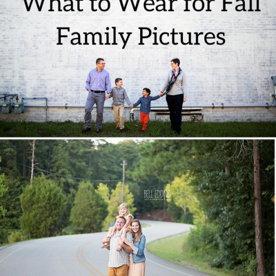 What to Wear for Fall Family Sessions