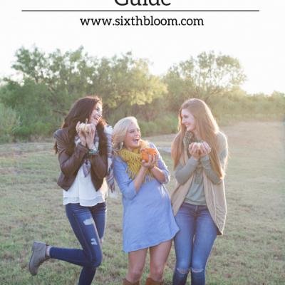 Fall Senior Girl Session Guide