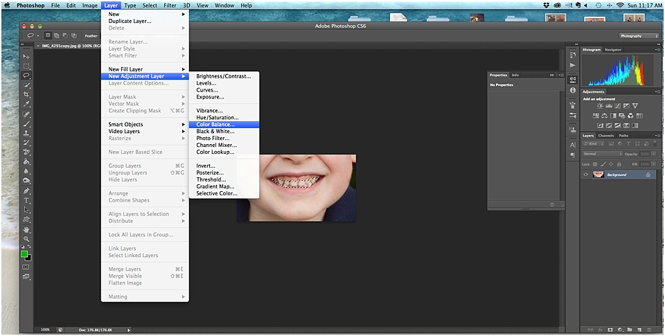 How To Whiten Teeth In Photoshop Free Course Sixth Bloom