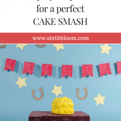 Start to Finish for a Cake Smash Session