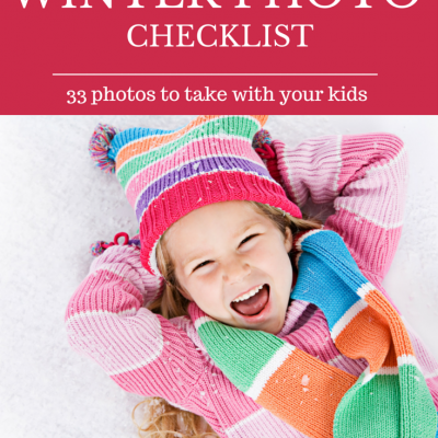 33 Winter Photos to Take With Your Kids