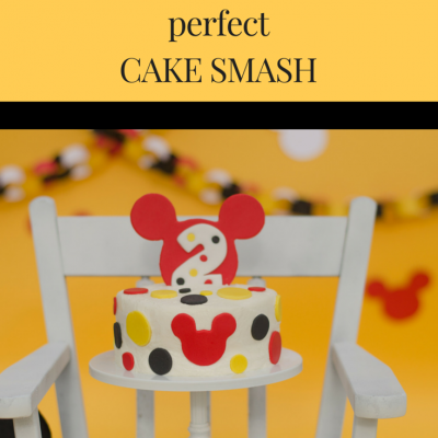 How to Photograph the Perfect Cake Smash