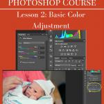 Photoshop Course: Basic Color Adjustments