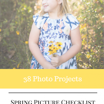 38 Spring Pictures to Take This Year