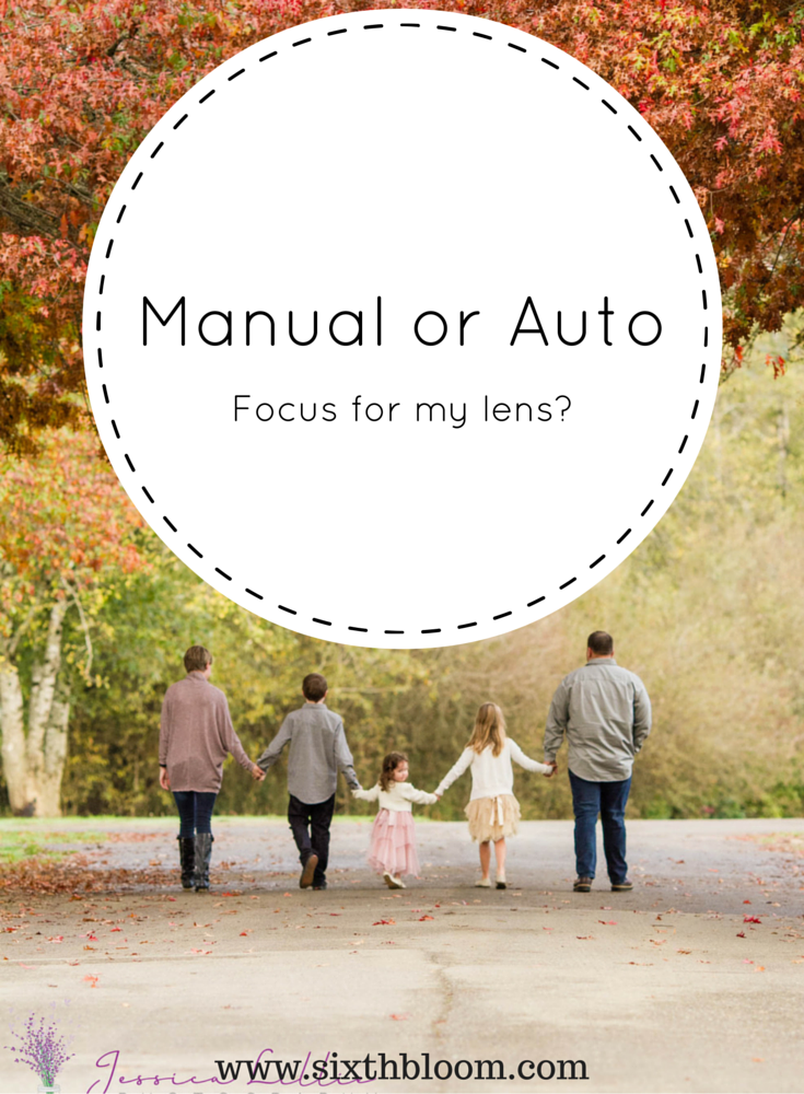 manual or auto on my lens