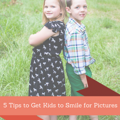 5 Tips to Get Kids to Smile for Pictures