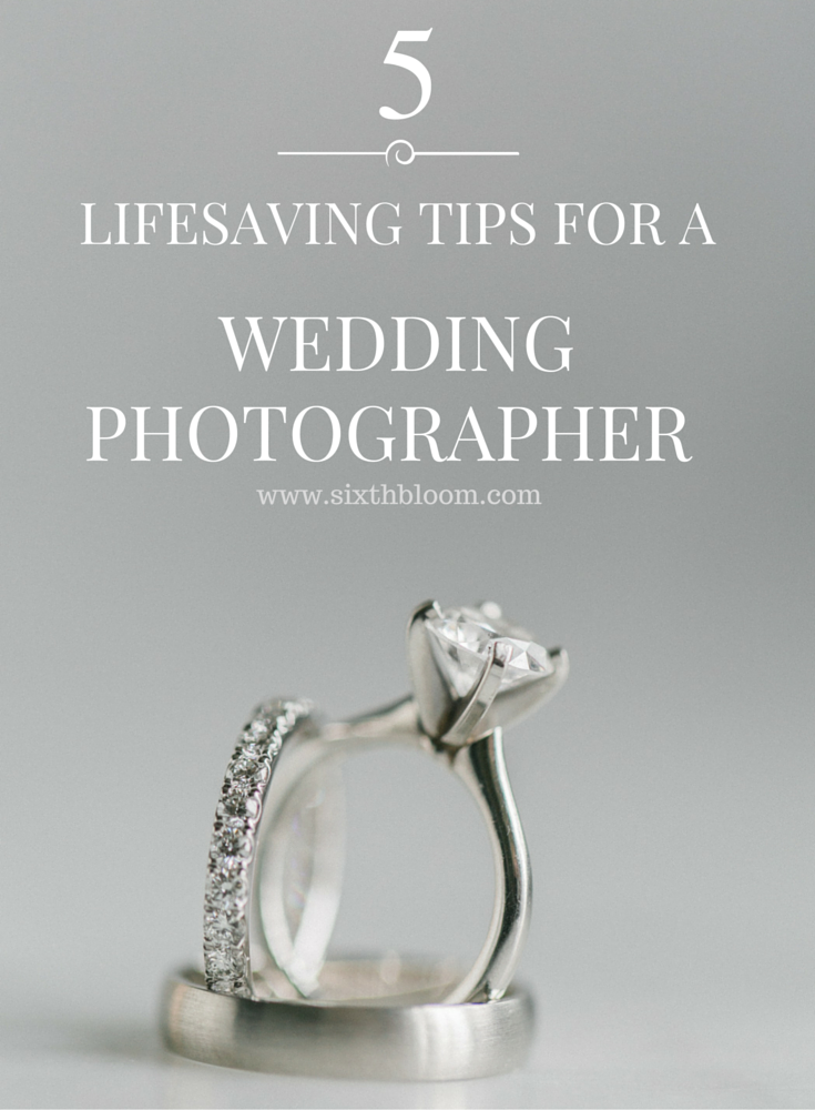 wedding photographer tips