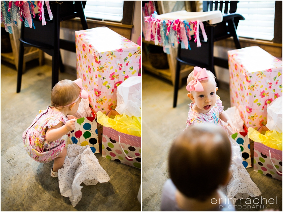 girls one year old party
