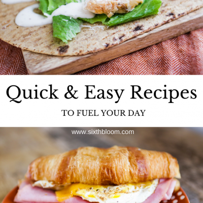 Ad | Quick & Easy Recipes to Fuel Your Day