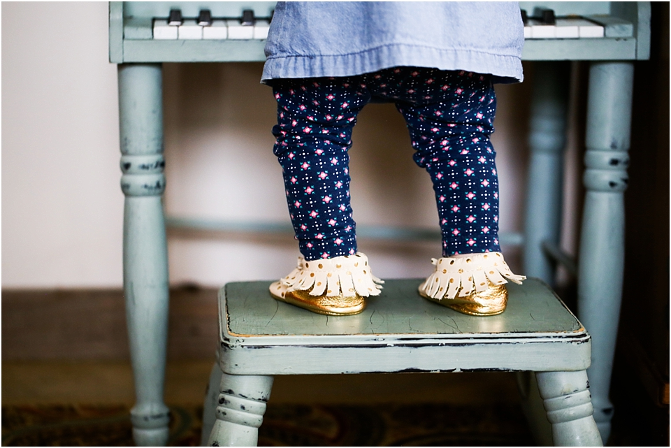 style a childs moccasins