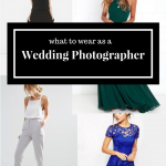What to Wear when You're the Wedding Photographer