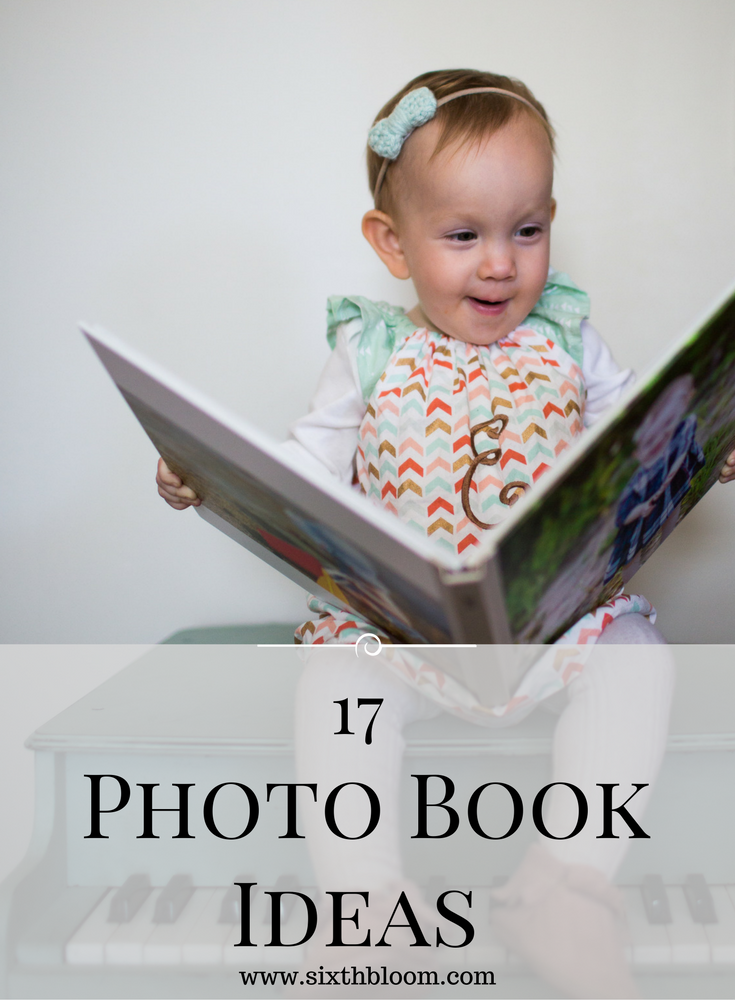 custom photo book ideas