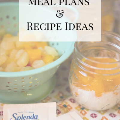 30 Days Without Sugar   Meal Plan & Recipe Ideas