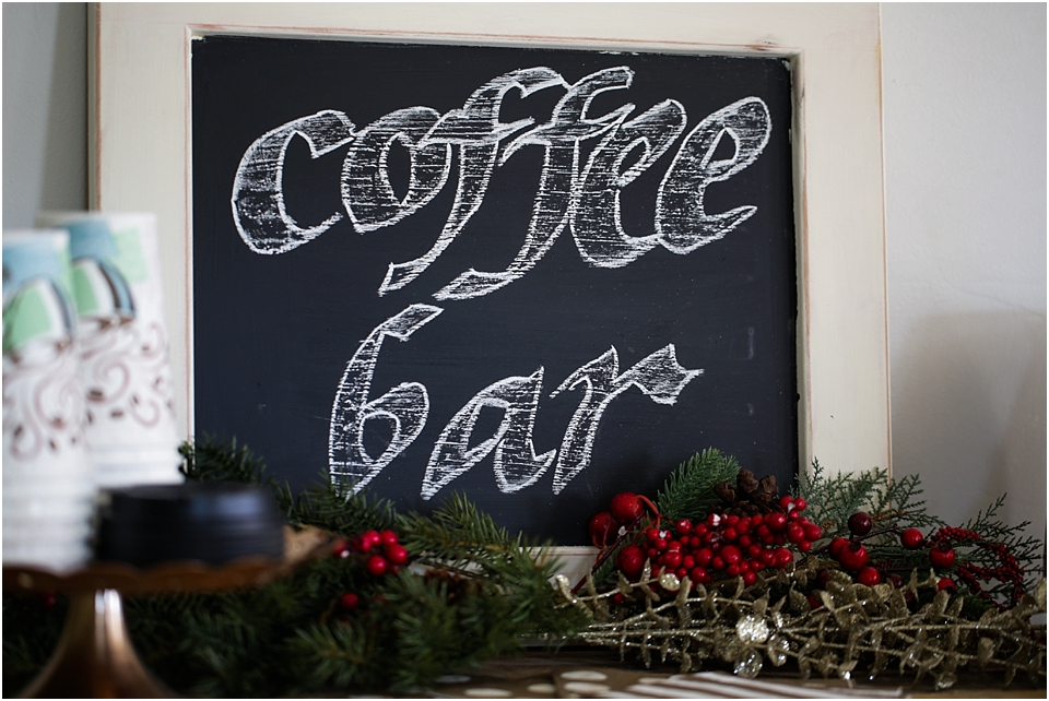 coffee bar idea DIY