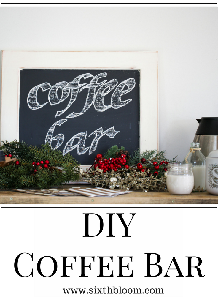 coffee bar DIY