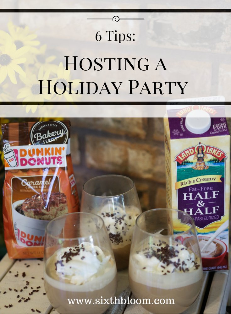 hosting a party