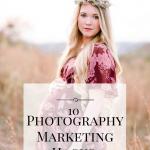 10 Photography Marketing Hacks