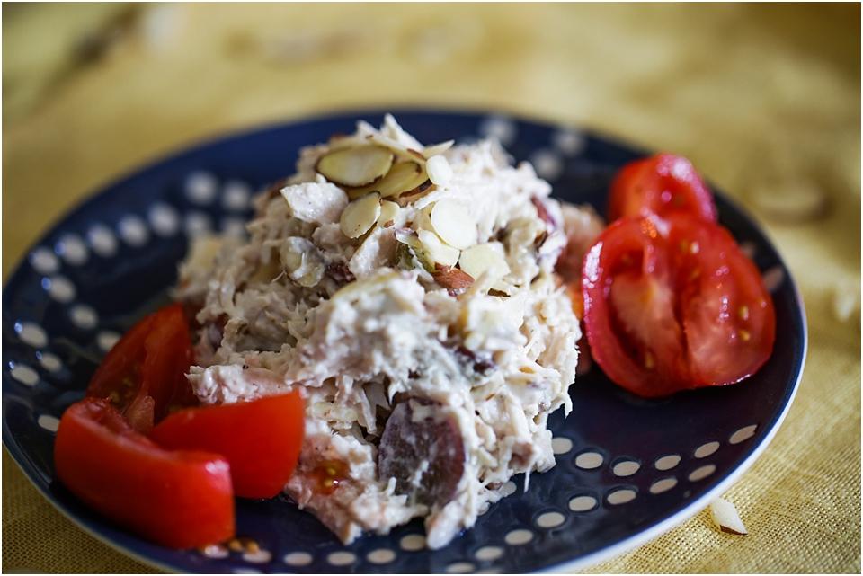 Bacon Apple Chicken Salad