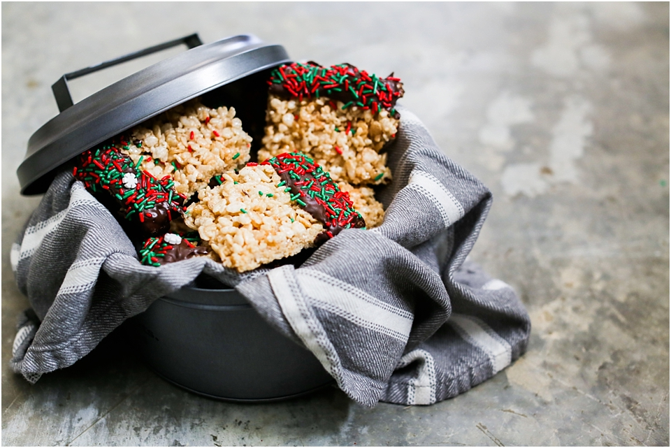 Chocolate Dipped Kellogg's® Rice Krispies® Treats