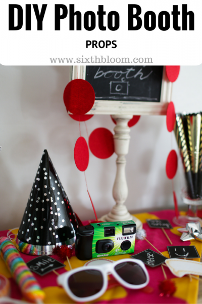 How to Create the Perfect DIY Photo Booth Props