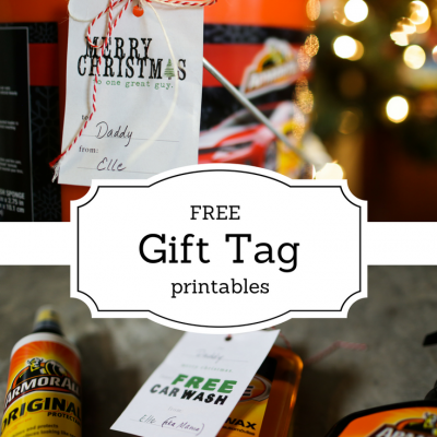 Perfect Gift for Dad + FREE Gift Tag Printable