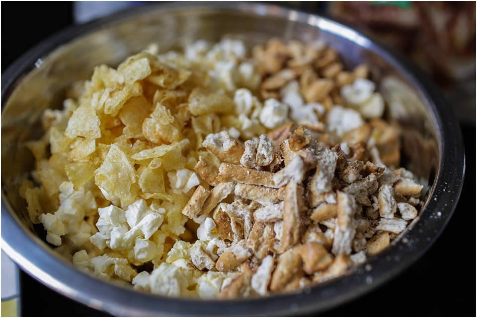 popcorn mix snack
