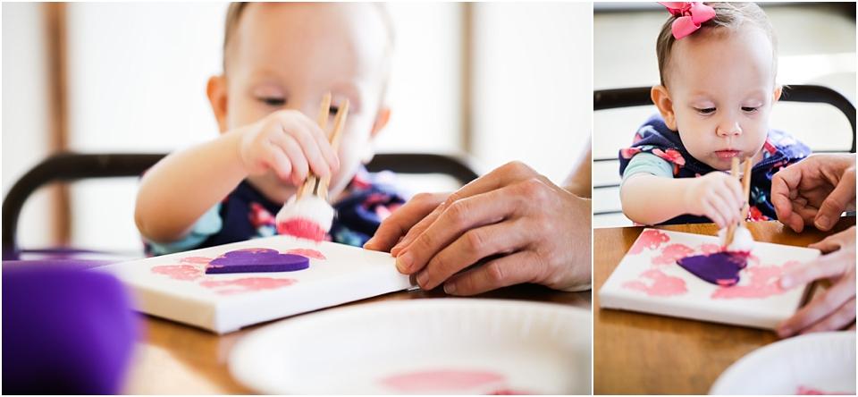 valentines toddler craft