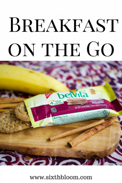 Easy Morning Meals with belVita Biscuits
