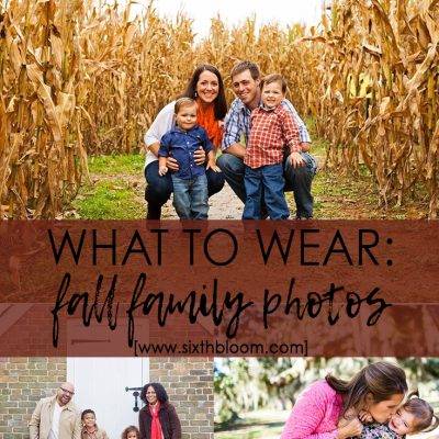 Forget Boring: What to Wear for Family Pictures