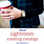 lightroom tutorial creating catalog