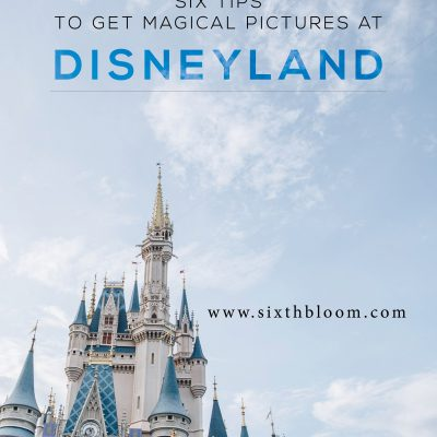 6 Tips for Magical Pictures at Disney