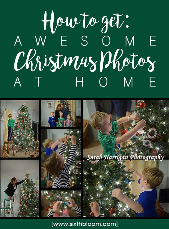 How to take Good Christmas Pictures
