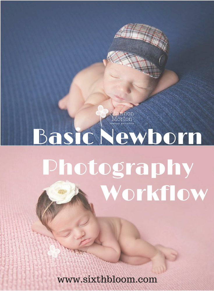 Discover the Perfect Newborn Photography Workflow