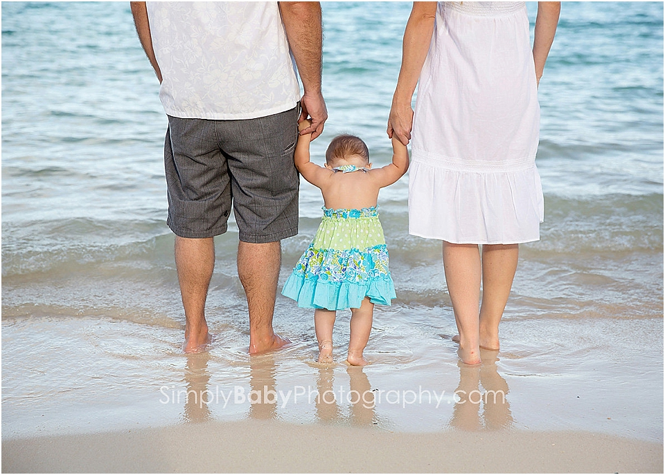 beach pictures as a family