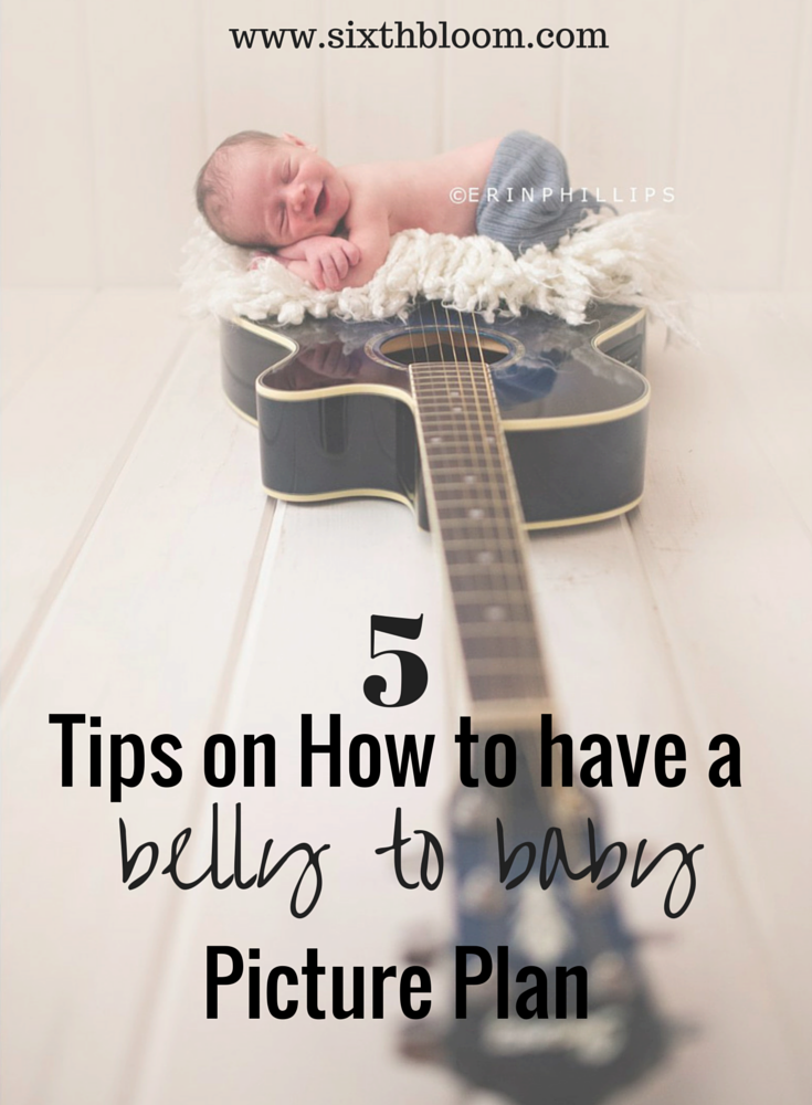 5 Tips on How to have a Baby to Belly Picture Plan