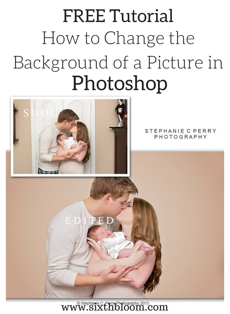 FREE Tutorial: Changing an Ugly Background in your Picture