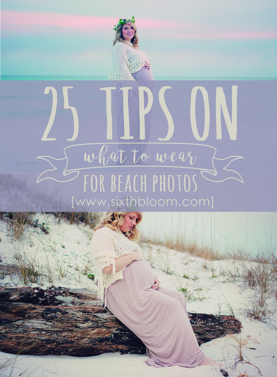 tips on what to wear for beach photos