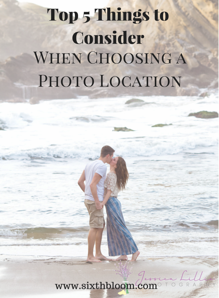 Top 5 Things to Consider when choosing a photo location