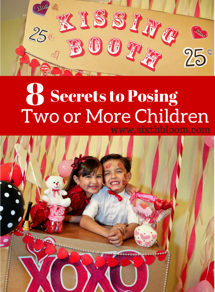 8 SECRETS TO posing two or more children
