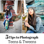 taking pictures of teens