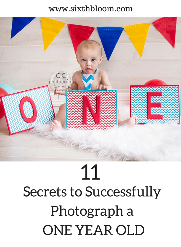 Let them Wiggle : 11 Tips to take Pictures of a One Year Old